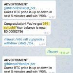 btc faucet bot telegram