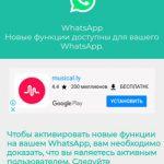 Whatsapp обновление - переписка в цветном режиме