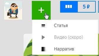 ка писать статьи на Яндекс Дзен