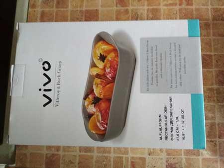Форма для запекания Vivo. Отзыв