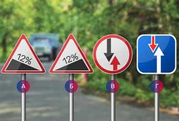 знаки дорожные что означают