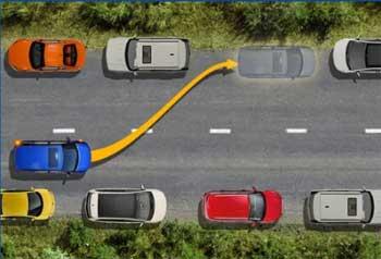 парковка автомобиля вне населенного пункта