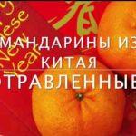 отравленные мандарины в Барнауле