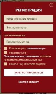 Регистрация на www.promo.znatnye.ru