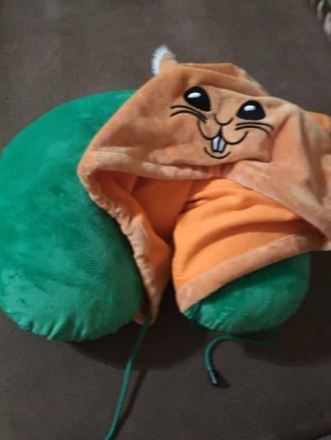 подушка с Белкой