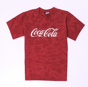 Футболка Coca-Cola Tie-dye