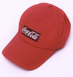 Кепка красная Coca-Cola Neon logo